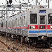73K:3638編成 京成3600形が北総線を走る