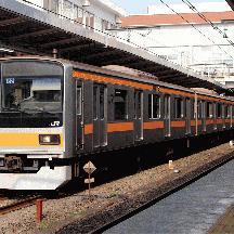 JR東日本209系1000番台 中央快速線を走る