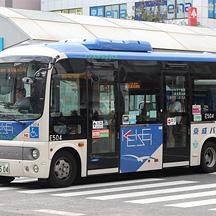 京成バスE504号車 カモメカラーの日野ポンチョ