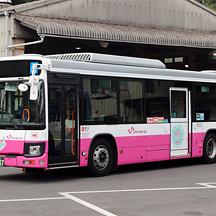 松戸新京成バス3307号車 創立15周年記念特別塗装車両