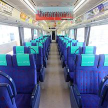 京急線 座席指定サービス「ウィング・シート」に乗る - 乗車編