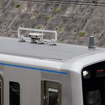 京成3000形・3700形 デジタルSR無線アンテナの本設始まる