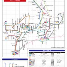 東洋バス路線図 2018年3月16日版