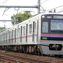 京成3050形3052編成・3053編成 赤と青の京成カラーに変更