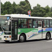 ちばグリーンバスCG-157号車 ワンロマ仕様のエアロスター