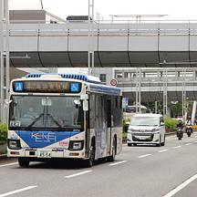 京成バス 新都心営業所の東京オリンピック・パラリンピック対応 その2