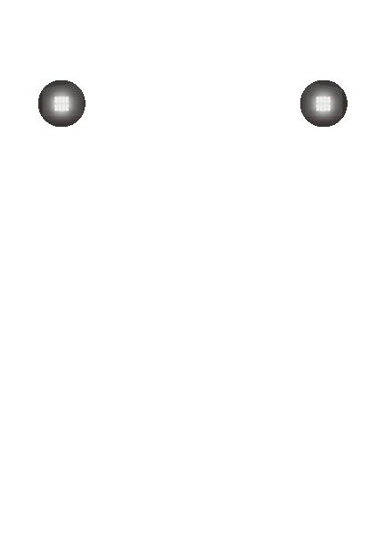前部標識灯(ハイ)