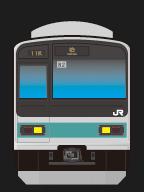 JR東日本209系1000番代 走行音