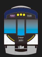京阪3000系 走行音
